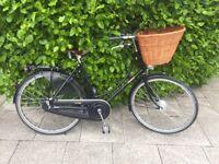 "Pashley ladies bike Princess Sovereign. 20"" frame, black. 5 gears"