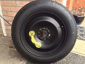 unused ford mondeo space saver wheel