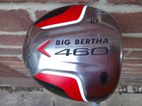 Callaway Big Bertha 460 Driver 10 Degree Regular flex shaft in superb condition