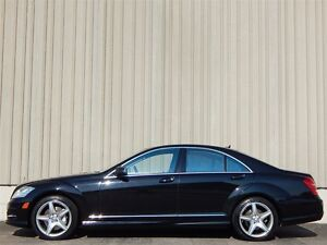 2011 Mercedes-Benz S-Class BLACK ON BLACK AMG AWD