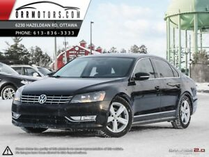 2015 Volkswagen Passat TDI  w/ Sunroof & Leather