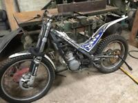 Sherco 125cc trials bike