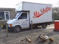 VW LT35 Luton Van, 12 months MOT, ready-made removals/haulage business Mr Shifty