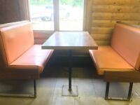 Cafeteria Tables and Sofa Chairs