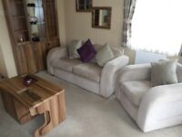Immaculate 2011 Willerby Winchester caravan for sale at Percy Wood Country Park in Northumberland