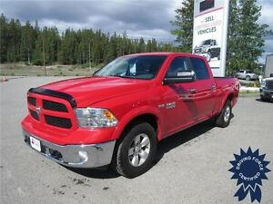 Red 2014 Ram 1500 Outdoorsman Crew Cab 4WD, 5.7L Hemi V8