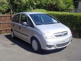 Vauxhall Meriva Life 1.4 petrol 2006 model.