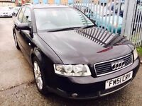 AUDI A4 ESTATE 1.9 TDI SE DIESEL MANUAL 100 BHP 2002 AVANT