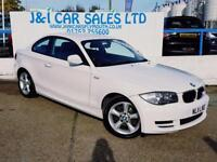 BMW 1 SERIES 2.0 120I SPORT 2d manual 168 BHP A GREAT EXAMPLE I (white) 2011