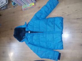 m&s Autograph boys fleece lined winter coat winter jacket age 9 - 10 years