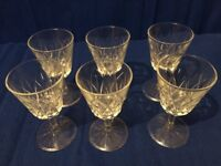Set of 24 Glasses, 6 of each type