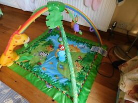 Fisher-Price Rainforest Music play mate