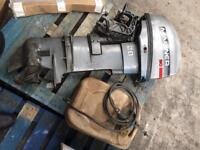 20hp mariner long shaft outboard plus fuel tank