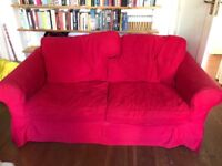 2 Seater Sofa Red