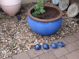 Large Ceramic Outdoor Plant Pot