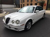 Jaguar S-TYPE 3.0 Manual white edition px welcome