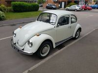 Orginal 1972 BEETLE mint condition