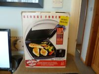 GEORGE FOREMAN GRILL NEW BOXED..