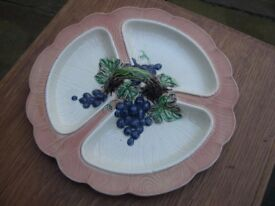 An unusual Carlton ware Australian design dish.