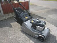 Hayter Harrier 48 Pro Petrol Lawnmower Fully Serviced Great Condition only used for Domestic Use