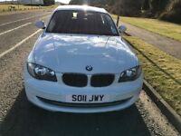 BMW 2.0 116D sport, Alpine white