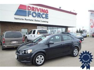 2015 Chevrolet Sonic LT Front Wheel Drive - 40,550 KMs, 1.8L Gas