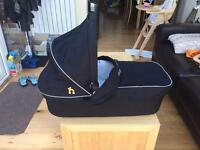 Carrycot and adaptors for Out n About pram
