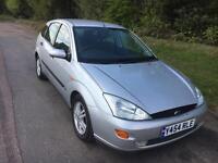 2001 Ford Focus 1.8 Manual Petrol 5doors 10 months MOT