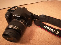 Excellent condition Canon EOS 500D Digital SLR Camera with Canon EF-S 18-55mm 1:3.5-5.6 IS Kit lens