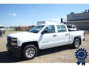 2015 Chevrolet Silverado 1500 Work Truck, Seats 6, 22,318 KMs