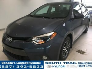 2016 Toyota Corolla CE - HEATED SEATS, LEATHER ACCENTS, ALLOYS