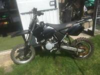 2008 KTM 65 SX MOTOCROSS BIKE