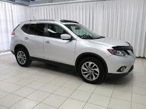 2015 Nissan Rogue 2.5SL AWD LEATHER, SUNROOF, NAVIGATION AND SO