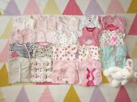 💕 Next bundle baby girl 'up to 1 month' baby-grow and clothes 💕