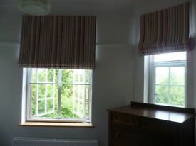 Curtains, Roman blinds and soft furnishings made to measure