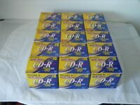 High Quality Sony CD-R's -15 BOXES - CAN BE SOLD IN BATCHES OR AS A LOT