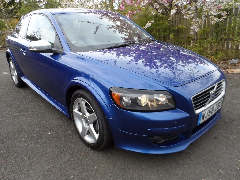 2008 diesel 1 6d volvo c30 r design sport met blue alloys. Black Bedroom Furniture Sets. Home Design Ideas
