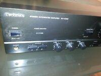 technics stereo interated amplifier su-vz320