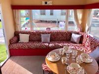 CHEAP 3 BEDROOM HEATED & DOUBLE GLAZED CARAVAN, 12 MONTH SEASON, SEA VIEWS!