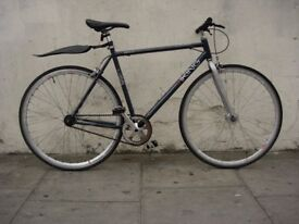 Fixie/ Single Speed Track Bike by Viking, Grey, Good Condition!! JUST SERVICED / CHEAP PRICE!!!!!!!