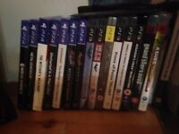 PS4 and PS3 games and console