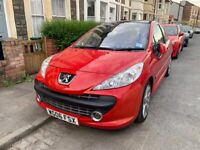 Peugeot, 207, Hatchback, 2006, Manual, 1.6 in Red - Panoramic Sunroof - Depollution Fault