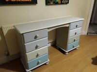 Pine Dresser with 8 Drawers Hand Painted - Delivery Available