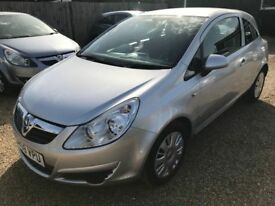 VAUXHALL CORSA 1.2 i 16v CLUB HATCH 3DR 2008*IDEAL FIRST CAR* CHEAP INSURANCE* EXCELLENT CONDITION