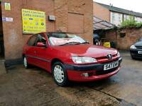 1998 Peugeot 306 1.4cc - Low Mileage - 3 Months Warranty