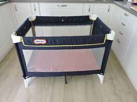 Little tikes travel cot and mattress
