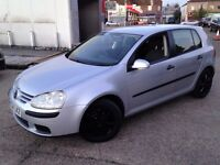 CHEAPEST V W GOLF 1.6 PETROL FSI . LONG MOT . LOW MILEAGE . SUPERB DRIVE . BARGAIN