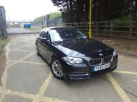 BMW 5 Series 520d SE (black) 2015