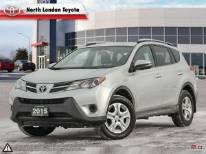 2015 Toyota RAV4 LE Great transition vehicle into the compact...