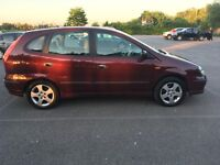 2005 NISSAN ALMERA TINO SE 1.8 1 OWNER FROM NEW